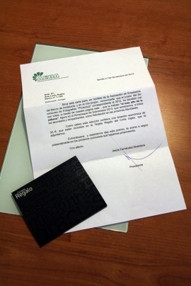 carta de agradecimeinto